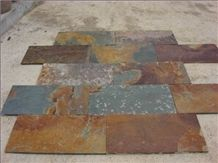Natural China Rusty Slate Tile(good Thickness)