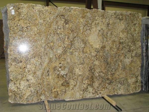 Polished Solarius Granite Slab Good Price From China