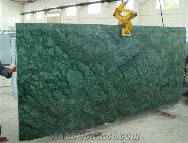 Polished Verde Guatemala Marble Slab From China