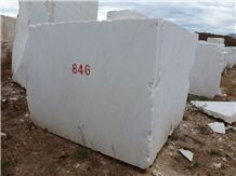 Sivec White A1 Marble Block