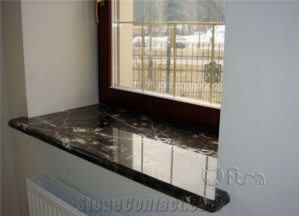 Emperador Dark Window Sill Brown Marble From Russian