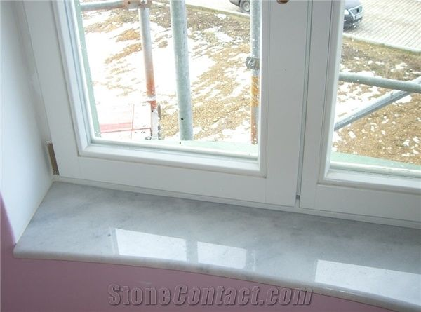 Marble Window Sill Bianco Carrara White Marble From Czech