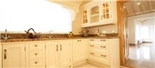 Giallo Veneziano Kitchen Countertops, Yellow Granite