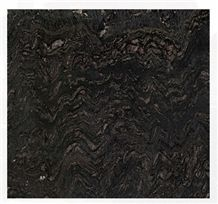 Earth Glitter Granite Slabs, Canada Black Granite