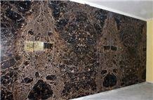 Dark Emperador Gold - Tiles, Marble