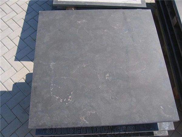polished bluestone tabletop 100x100x3 grey blue stone tabletop from rh stonecontact com Cherry Table Top Mahogany Table Top