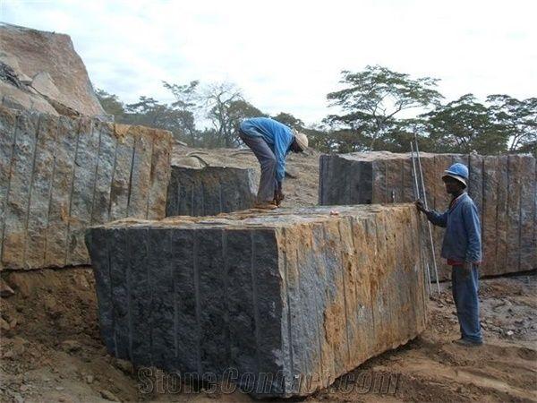 Nero Assoluto Zimbabwe , Nero Assoluto Zimbabwe Granite Block From Italy Stonecontact