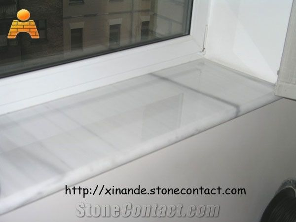 Marble Window Sills White Stone From China Stonecontact Com