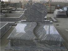 China Juparana,tombstone,monument