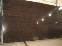 Cats Eye Granite Slabs & Tiles, India Brown Granite Polished Floor Covering Tiles, Walling Tiles