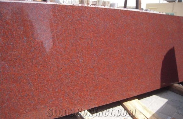 Jhansi Red Granite Slabs From India 32381 Stonecontact Com