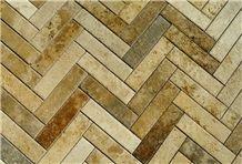 Travertino Classico Italian Travertine Tiles, Travertino Toscano Classico Travertine Tiles