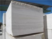 Travertino Navona and Travertino Silver Blocks, Travertino Navona Travertine Block