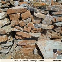 P014 Loose Walling Stone, Yellow Quartzite Walling