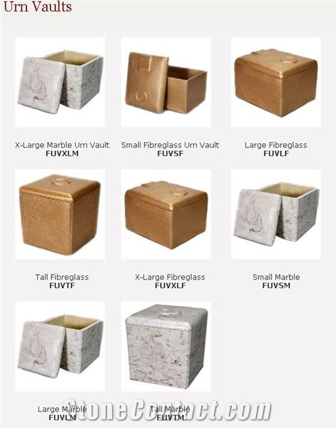 Urn Vaults from Canada - StoneContact com