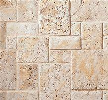 Fossil Reef Coral Stone Pattern, Marbella Shellstone Pattern