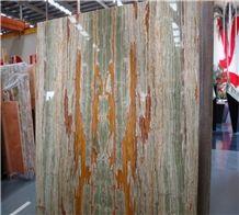 Bamboo Green Onyx Slab
