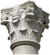G654 Granite Column Cap