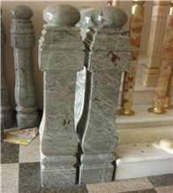 Green Granite Balustrade