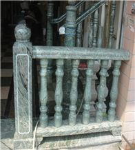 Green Granite Railings