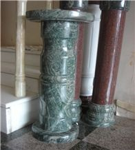Green Marble Balustrade