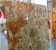 Green Onyx Dark Slab&tile