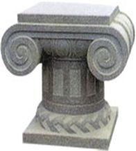 Grey Granite Pedestal