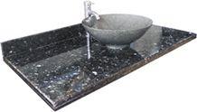 Mistic Blue Granite Vanity Top