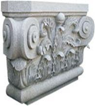 Wild Grey Granite Column Pedestal