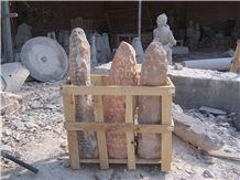 Stone Monolith for Garden 6404
