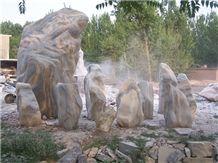 Stone Monolith for Garden 6405