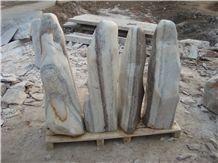 Stone Monolith for Garden 6409