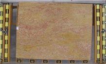 Giallo Reale Rosato Vein Cut Slabs, Marble