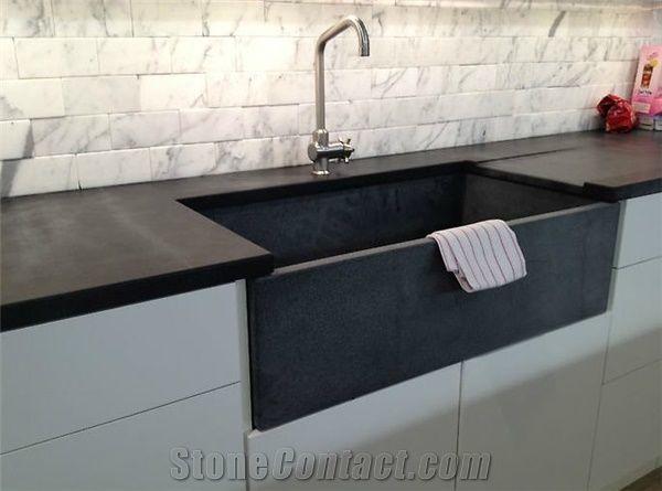 Soapstone Sinks Brazilian Night Black