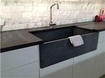 Soapstone Sinks, Brazilian Night Black Soapstone