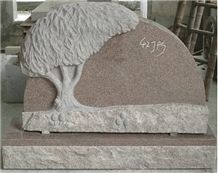 Carving Granite Tombstone, Carving Headstone Desig