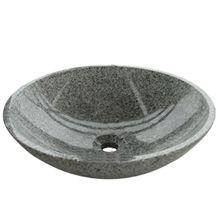 G603 Grey Granite Round Vessel Sink