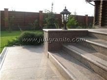 Garden_steps, Grey Granite Steps
