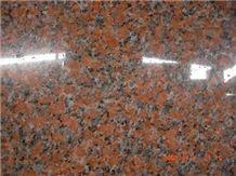 Maple Red Granite, G562 Red Granite Slabs