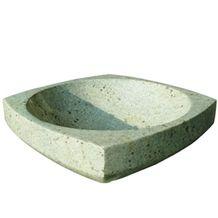 Stone Bathroom Basin Vessels, Yellow Granite Basin