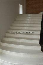 White marble steps, White Marble Steps