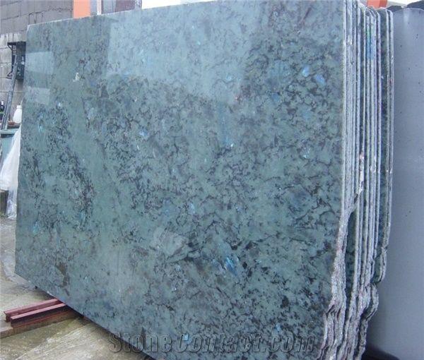 Labradorite Blue Australe Granite Slabs Madagascar Blue