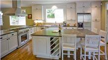 Saratoga Soapstone Kitchen Countertop and Island, Grey Soapstone