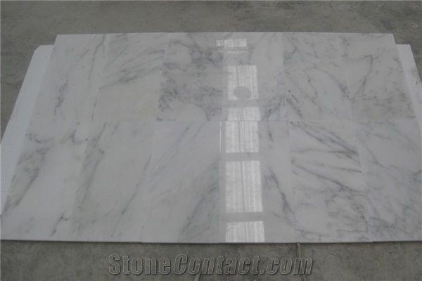 White Marble Chinese Calacatta Sichuan Tiles