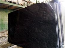 Nero Orion Slabs, Orion Black Granite Slabs