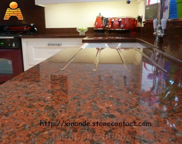 Red Kitchen Countertops African Red Granite From China