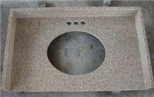 G682 Yellow Granite Vanity Top