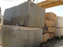 Morocco Green Limestone Blocks, Morocco Grigio Valverde Limestone Blocks