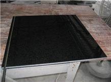 Polished G684 Black Basalt Tiles, China Black Basalt