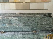 Sea Wave Green Granite Slabs, China Green Granite